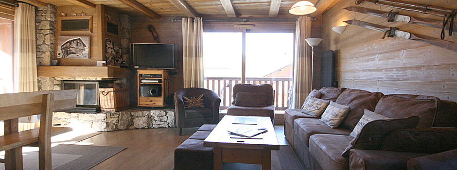 Grange 1, sleeps 6, self catered Chalet, Meribel Village